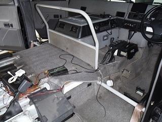 メガクルーザー車内の画像
