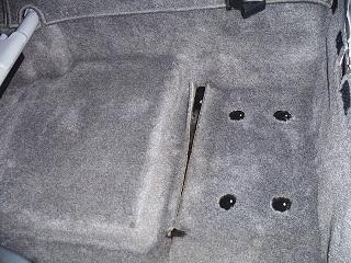 メガクルーザー車内フロアー画像