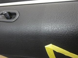助手席側ドア効果(テープ左側作業).JPG